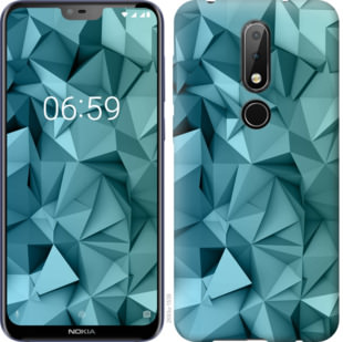 Чехол на Nokia 6.1 Plus Геометрический узор v2