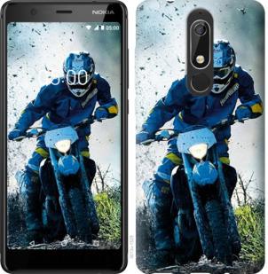 Чехол на Nokia 5.1 Мотокросс