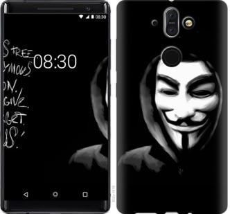 Чехол на Nokia 8 Sirocco Анонимус