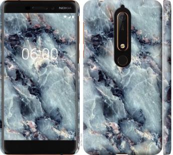 Чехол на Nokia 6 2018 Мрамор