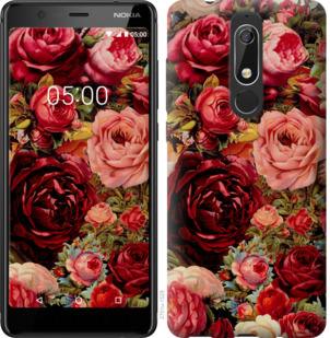 Чехол на Nokia 5.1 Цветущие розы