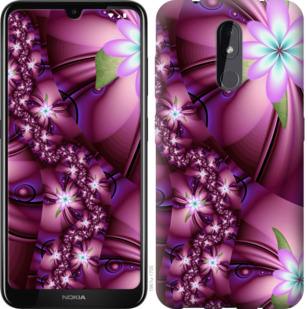 Чехол на Nokia 3.2 Цветочная мозаика