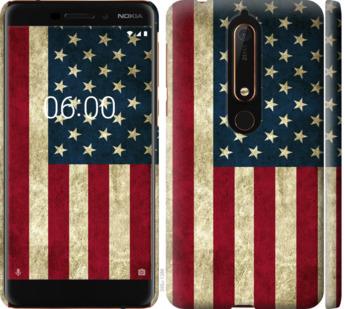 Чехол на Nokia 6.1 Флаг США