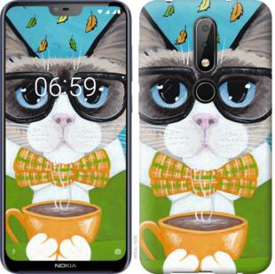 Чехол на Nokia 6.1 Plus CatandCoffee