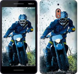 Чехол на Nokia 2.1 Мотокросс