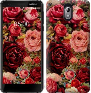 Чехол на Nokia 3.1 Цветущие розы