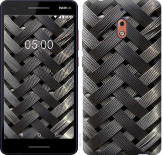 Чехол на Nokia 2.1 Металлические фоны