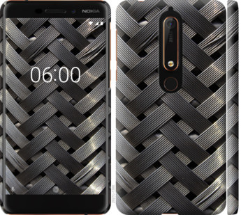 Чехол на Nokia 6 2018 Металлические фоны