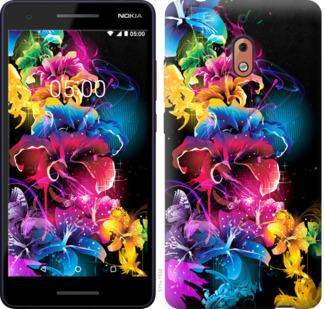 Чехол на Nokia 2.1 Абстрактные цветы