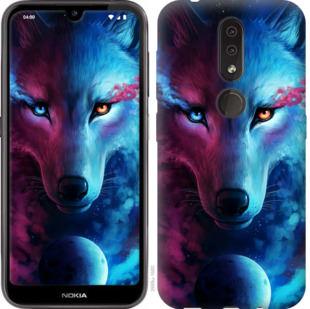 Чехол на Nokia 4.2 Арт-волк
