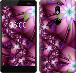 Чехол на Nokia 7 Цветочная мозаика