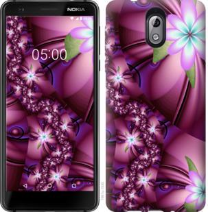 Чехол на Nokia 3.1 Цветочная мозаика