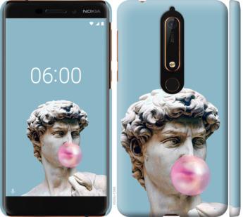 Чехол на Nokia 6.1 Микеланджело