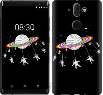 Чехол на Nokia 8 Sirocco Лунная карусель