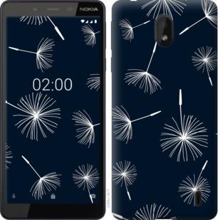 Чехол на Nokia 1 Plus одуванчики