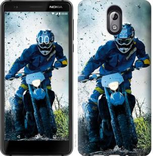Чехол на Nokia 3.1 Мотокросс