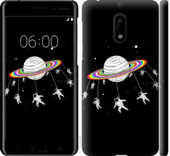 Чехол на Nokia 6 Лунная карусель
