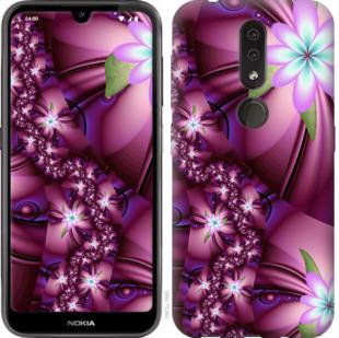 Чехол на Nokia 4.2 Цветочная мозаика