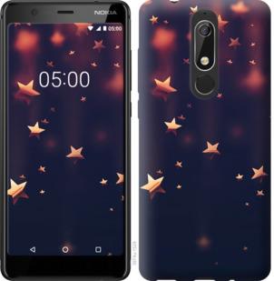 Чехол на Nokia 5.1 Падающие звезды