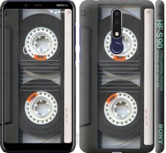 Чехол на Nokia 3.1 Plus Кассета