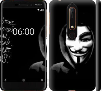 Чехол на Nokia 6.1 Анонимус
