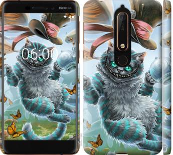 Чехол на Nokia 6.1 Чеширский кот 2
