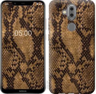 Чехол на Nokia 7.1 Plus Змеиная кожа