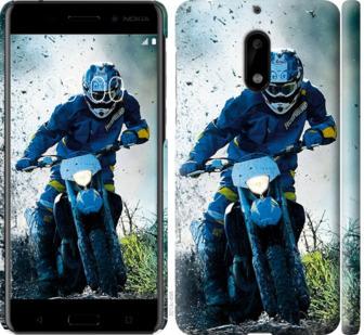 Чехол на Nokia 6 Мотокросс