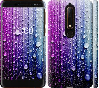 Чехол на Nokia 6.1 Капли воды