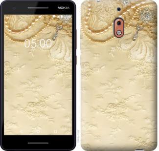 Чехол на Nokia 2.1 Кружевной орнамент