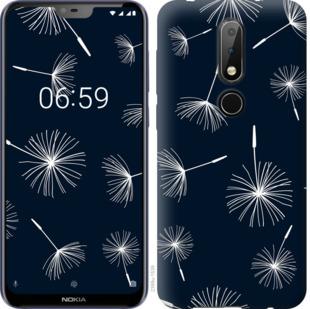 Чехол на Nokia 6.1 Plus одуванчики