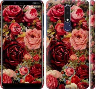 Чехол на Nokia 3.1 Plus Цветущие розы