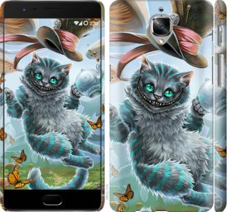 Чехол на OnePlus 3T Чеширский кот 2
