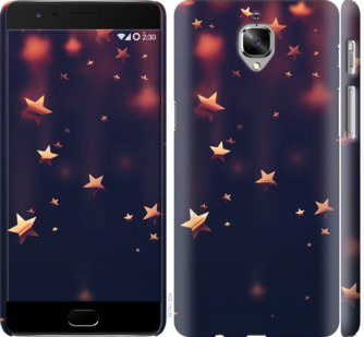 Чехол на OnePlus 3T Падающие звезды