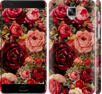 Чехол на OnePlus 3T Цветущие розы