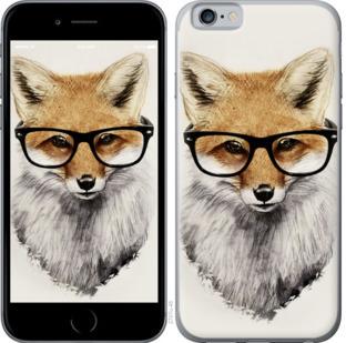 Чехол на OnePlus 7 Лис в очках