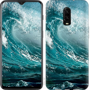 Чехол на OnePlus 6T Морская волна