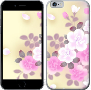 Чехол на OnePlus 7 Японские цветы