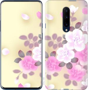 Чехол на OnePlus 7 Pro Японские цветы