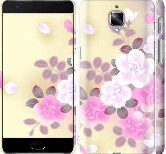 Чехол на OnePlus 3T Японские цветы