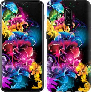 Чехол на OnePlus 6T Абстрактные цветы