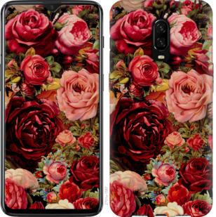 Чехол на OnePlus 6T Цветущие розы