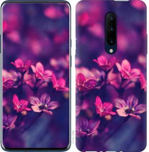 Чехол на OnePlus 7 Pro Пурпурные цветы
