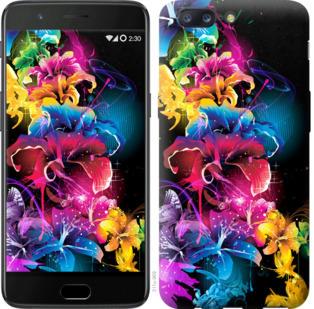 Чехол на OnePlus 5 Абстрактные цветы