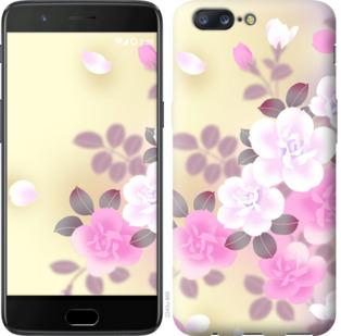 Чехол на OnePlus 5 Японские цветы