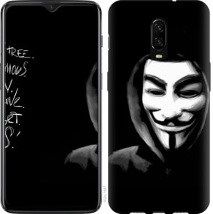 Чехол на OnePlus 6T Анонимус