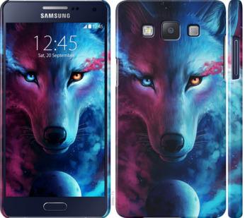 Чехол на Samsung Galaxy A5 A500H Арт-волк