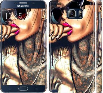 Чехол на Samsung Galaxy Note 5 N920C Девушка в тату
