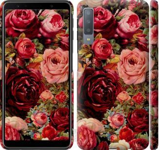Чехол на Samsung Galaxy A7 (2018) A750F Цветущие розы