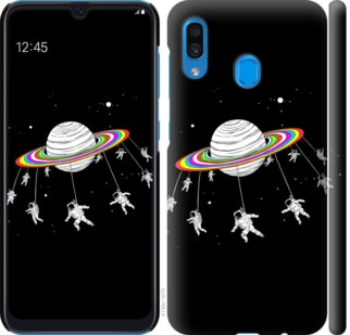 Чехол на Samsung Galaxy A30 2019 A305F Лунная карусель